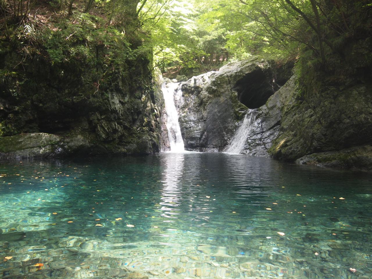 神童子釜滝