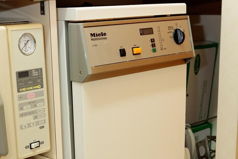ミーレジェットウオッシャー(高温水圧洗浄機)